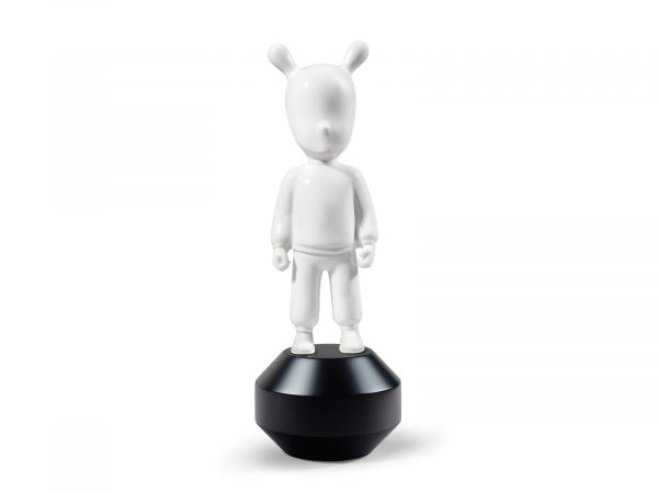 Lladro The Guest Little - White on Black