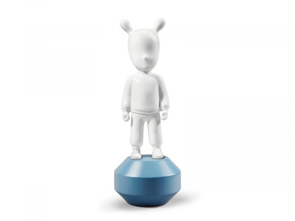 Lladro The Guest Little - White on Blue