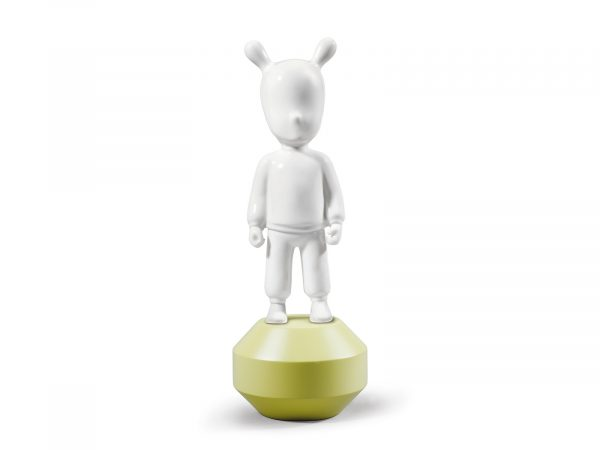 Lladro The Guest Little - White on Yellow