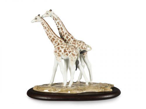 Lladro Giraffes