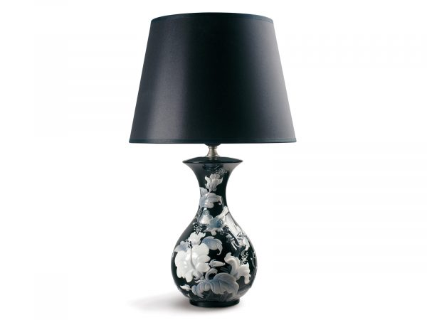 Lladro Sparrows Lamp Black 01023359