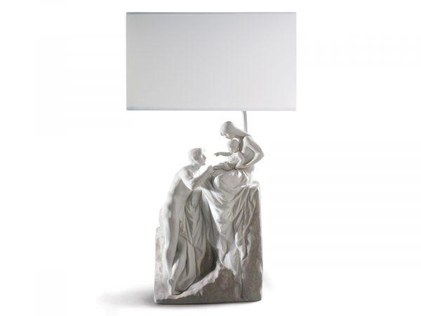 Lladro Family Lamp