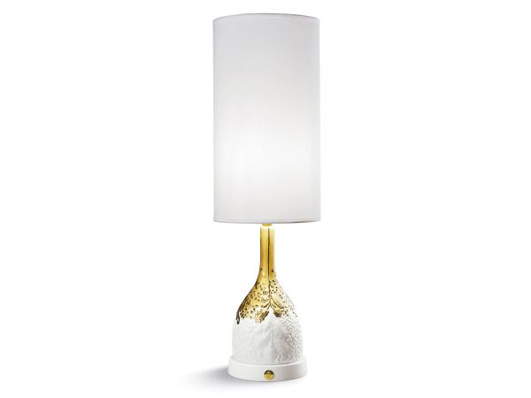 Lladro Naturofantastic Table Lamp - Organic Nature (Gold)