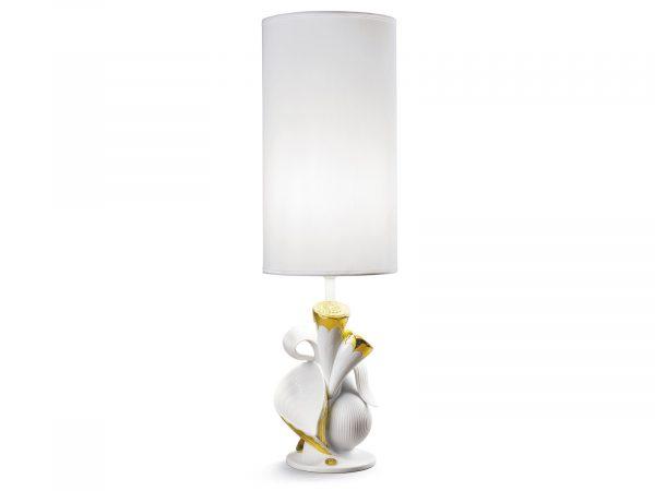 Lladro Naturofantastic Table Lamp - Living Nature (Gold)