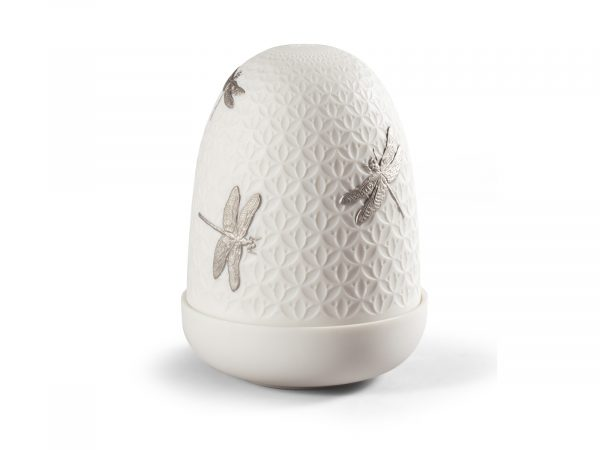 Lladro Dome Lamp - Dragonflies