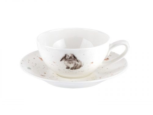 Royal Worcester Wrendale Cup & Saucer - Small / Rabbit