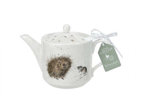 Royal Worcester Wrendale Teapot / Hedgehog & Mice