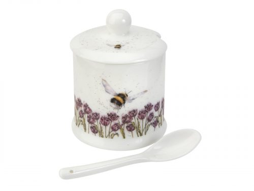 Royal Worcester Wrendale Pot - Conserve / Bumble Bee