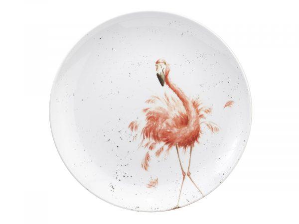 Royal Worcester Wrendale Platter - Round / Flamingo