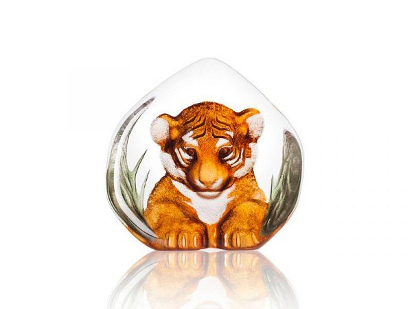 Maleras Wildlife Painted Tiger Cub