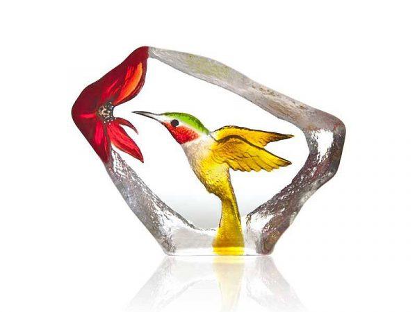 Maleras Wildlife Painted Hummingbird