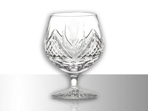 Royal Scot Scottish Thistle Crystal