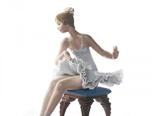 Porcelain Lady Figurines Collection