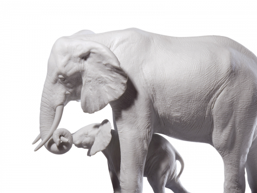 Porcelain Animal Figurines Collection