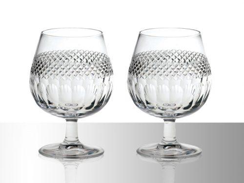 Royal Scot Crystal Brandy Glasses