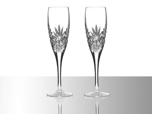 Royal Scot Crystal Champagne Flutes