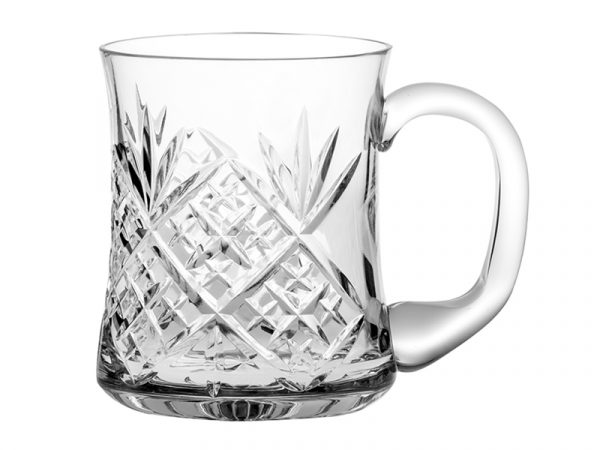 Royal Scot Crystal Edinburgh Tankard
