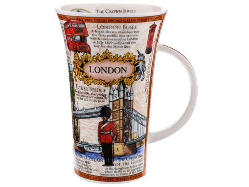 Dunoon Glencoe London Montage Mug