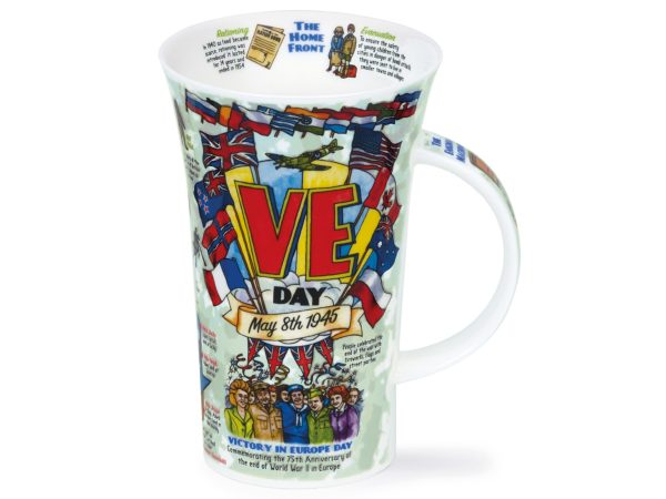 Dunoon Glencoe VE Day mug