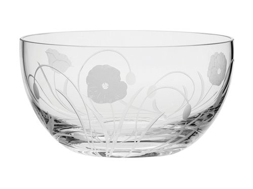 Royal Scot Crystal Poppyfield Fruit / Salad Bowl