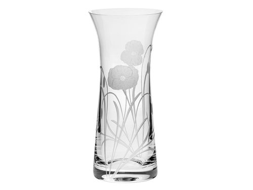Royal Scot Crystal Poppyfield Lily Vase