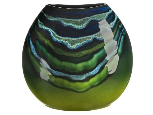 Poole Pottery Maya Purse Vase