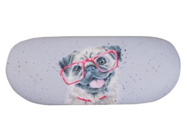 Wrendale Designs Pug Spectacles Glasses Case