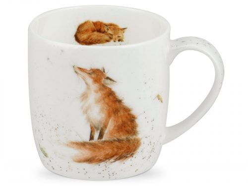 The Artful Dodger Fox Mug by Wrendale