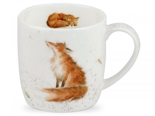 The Artful Dodger Fox Mug by Wrendale