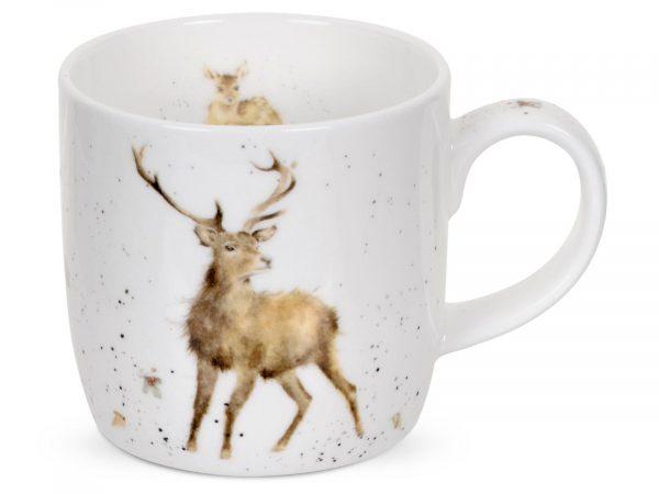 Stag Mug by Wrendale