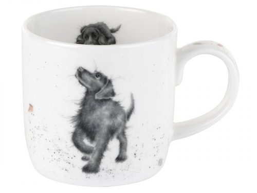 Labrador Walks Mug by Wrendale