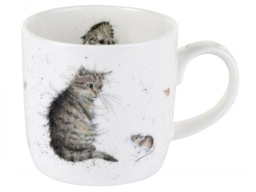 Cat and Mouse Mug by Wrendale