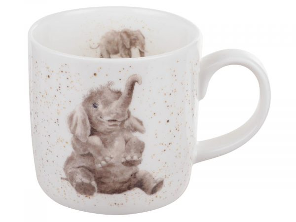 Wrendale by Royal Worcester Elephant Mug