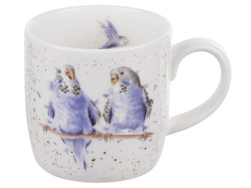 Wrendale Budgies Mug