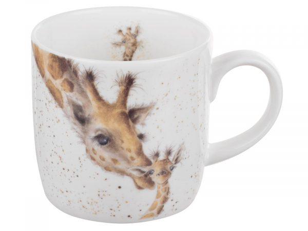 First Kiss Giraffe Mug by Wrendale