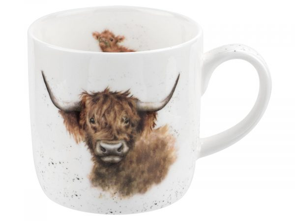 Highland Cow Wrendale Mug