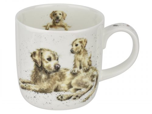 Labrador Mug with Puppy Wrendale