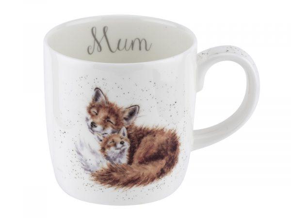 Wrendale Mummy Fox Mug