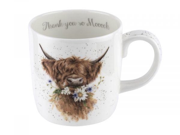 Wrendale Cow thank you mug