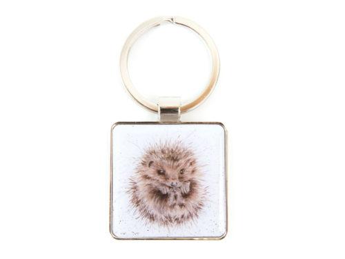 Wrendale Designs Awakening Hedgehog Keyring