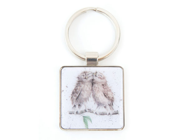 Wrendale Designs Birds of a Feather Owl Keyring