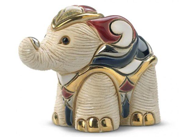 De Rosa Porcelain Baby White Elephant