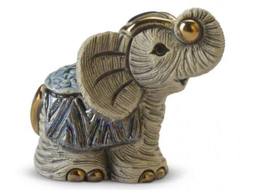 De Rosa Porcelain Mini Elephant IV