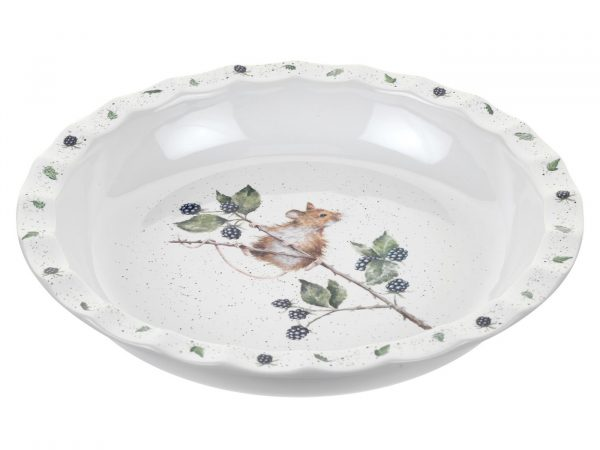 Royal Worcestor Wrendale Mouse Pie Dish