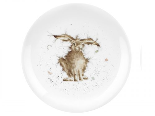Royal Worcester Wrendale 8 inch Coupe Plate - Hare