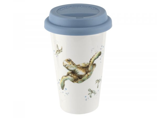 Royal Worcester Wrendale Turtle Travel Mug