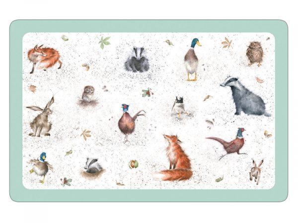 Royal Worcester Wrendale Mat - Animals