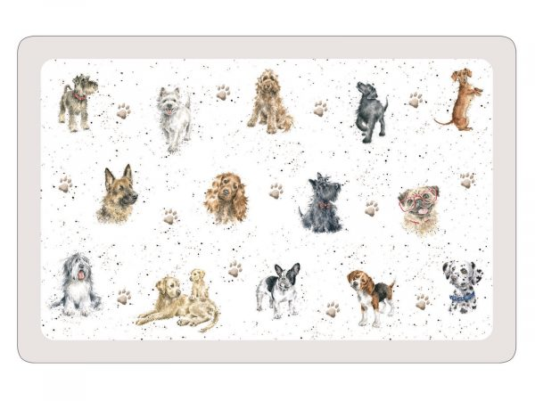 Royal Worcester Wrendale Mat - Dogs