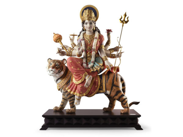 Lladro Hindu Goddess of War