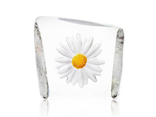 Maleras Crystal Daisy Sculpture